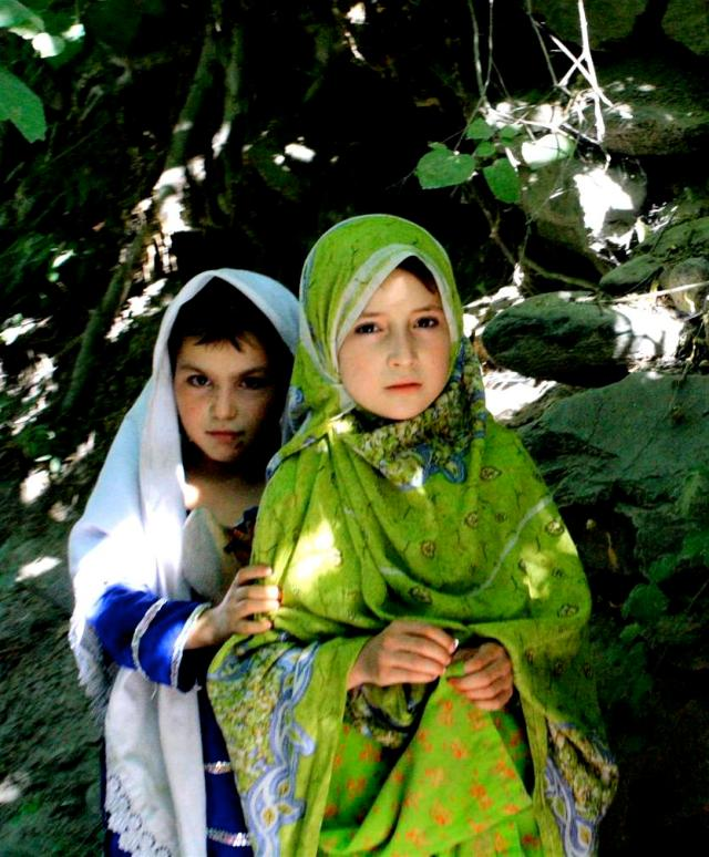 Chitrali Girls - Picture taken during my trip to Chitral, Pakistan in August of '09